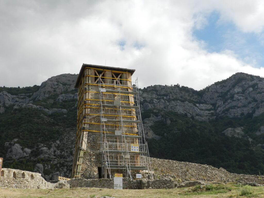 Castelul din Kruje
