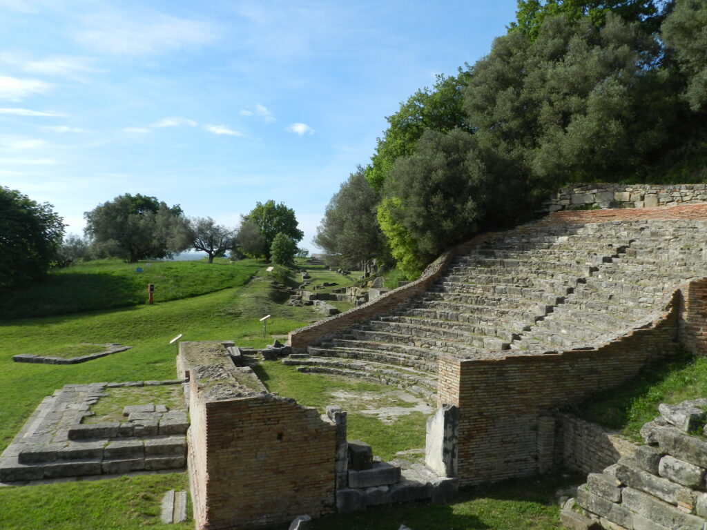 Parcul Arheologic Apollonia, Odeonul